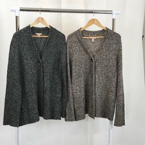 2 White Stag  Single Button Cardigans